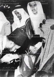 Founder of the Muslim Brotherhood and King os Saudi Arabia in 1936