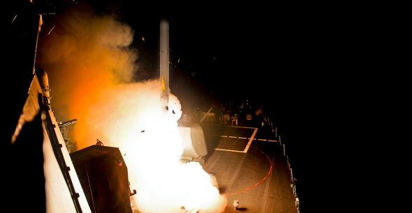 US Navy Hits IS Targets